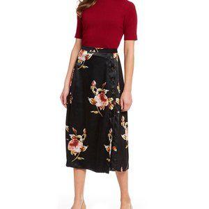 Alex Marie Joelle Floral Print Midi Skirt